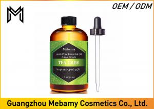 China Natural 100% Pure Tea Tree Essential Oil For Aromatherapy For Skin Purifying on sale