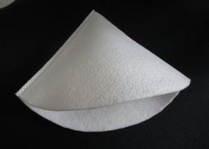 China Water Filtration Liquid Filter Bag Funnelform 50 / 100 Micron Polyester on sale