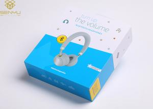 China High End Custom Retail Product Magnetic Closure Gift Box Bluetooth Earphone Packaging on sale