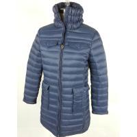Outdoor Windproof Womens Long Down Winter Coats Goose / Duck Down Jackets
