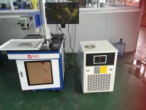 China Air Cooling CO2 Laser Engraving Machine UV Laser  / Fiber Laser Marker Machine on sale