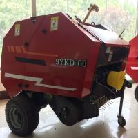 China Agriculture tractor mounted small straw baler machine for rice straw on sale