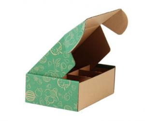 China Durable Custom Printed Corrugated Boxes , Cardboard Shipping Boxes With Logo Printed on sale
