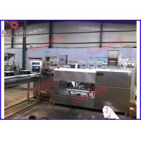 Custom Extrusion Dog Food Production Line High Performance PLC Control 100kg Per Hour