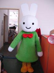 Quality костюм белого мультфильма талисмана кроликов косплай for sale