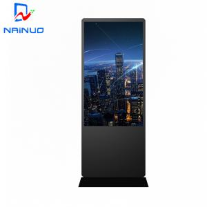 China Android Wifi Floor Standing Digital Signage Kiosk Lcd Advertising Display 49 inch on sale