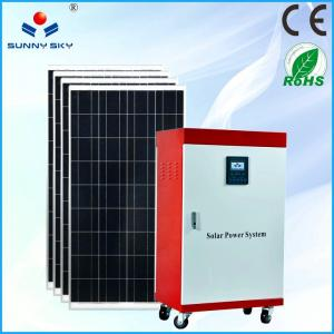 China cost saving 5kw solar power plant heating solar power system home solar generator solar energy with cheap price TY082B on sale
