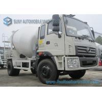 Foton Rowor C1 Cab 4X2 Concrete Mixer Truck 180 Horsepower Transport Mixer 5 M3 Mixing Capacity