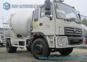 China Foton Rowor C1 Cab 4X2 Truck 180 Horsepower Transport Mixer 5 M3 Mixing Capacity on sale