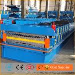 double layer color steel roof machine