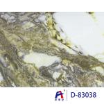 Marble Grain Pvc Ceiling Film For Wall Panel , Environmental Protection