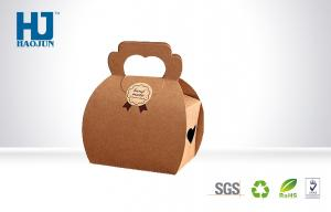 China Recycled Kraft Paper cardboard wedding Gift Packing Boxes For retailing on sale