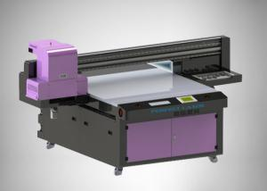 China Double Rail Industrial Uv Inkjet Printer Automatic Cleaning With 2g Ram on sale
