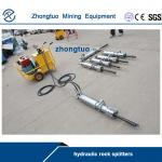 hydraulic rock splitter worked with high pressure oil pump|in promotion|factory price