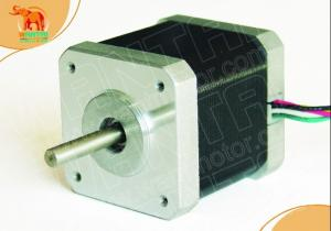 Quality 4-lead Nema 17 Stepper Motor 3400g-cm(48 oz-in) 40mm 1.7A CE ROSH ISO for sale