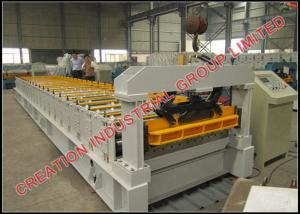 China High Speed Roof Panel Roll Forming Machine Roofing Sheet Forming Machine CE / SONCAP on sale