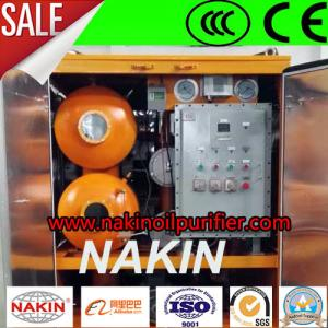 China 1800 L/H Double Stage Vacuum Transformer Oil Cleaning Equipment for Substation on sale