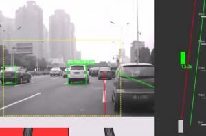 China Car Dvr Adas Forward Collision Alert And Lane Departure Warning 1920*1080 on sale