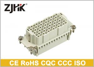 China HDD 72pin  250V Heavy Duty Multi Pin Connector With Crimp Power Terminal 09160723001 on sale
