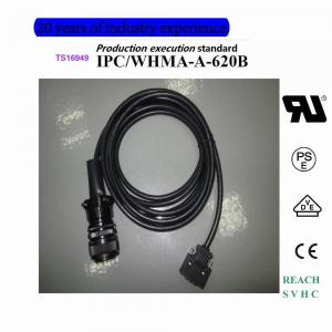 China 3M MDR CONNECTOR+MS3106A-20-18S cable assembly Custom processing on sale