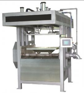 China Waster Paper Molded Pulp Packaging Machinery With Intelligent Touch Screen Control on sale