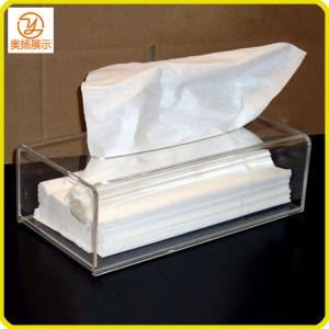 China customized all kinds of clear acrylic tissue box on sale