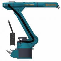 Customized Handling 6 Dof Robotic Arm , Mini Robot Arm For Partners