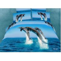 100% Cotton Bedding Set With Reactive Printing