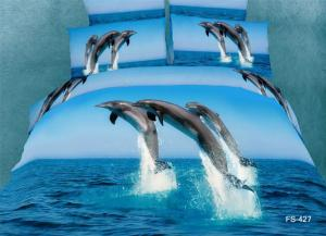 China 100% Cotton Bedding Set With Reactive Printing on sale