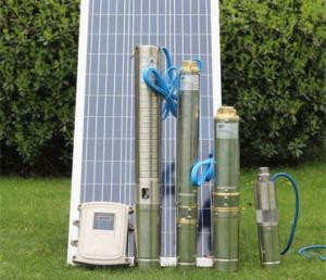 China Multi Stage DC Solar Water Pump Solar Stainless Steel 38mm Outlet High Pressure on sale