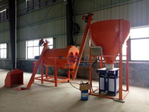 China Gypsum Powder Mortar Mixer Machine , Wall Putty Blender Quick Dry Mortar on sale
