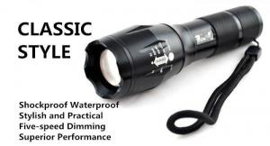 China XM-L T6 2000Lumens Zoomable Cree Led Flashlight Torch Light Taking 3x AAA or18650 Battery on sale