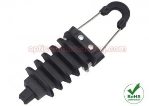 China Self Supporting Fiber Cable Anchor Clamp , Nylon Dead End Strain Clamp on sale