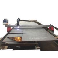 Gantry Type CNC Plasma Cutter / Plasma CNC Machine 25mm Cutting Thickness