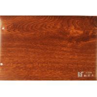 Decorative Wood Grain PVC Lamination Film Membrane Foil For DoorFurniture Curtain