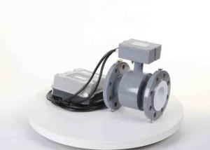 China Remote Electromagnetic Type Flow Meter , Water Utility Paddle Wheel Flow Meter on sale