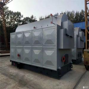 China High Efficiency low Price Industrial Wood Chip rice husk Fired Steam Boiler for plywood industry on sale