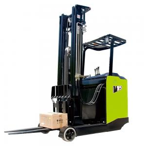 China High Load Reach Lift Truck 11 Meters Green Color 2 Ton Reach Truck on sale