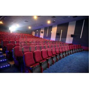 China Strong durable hall auditorium seats , 3D Theater Seat with Customized design on sale