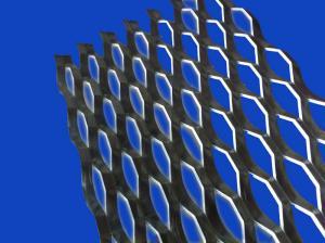 China platform grating Alloy Expanded Metal Mesh Sheet raised type on sale