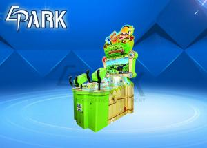 China Indoor Entertainment 2 Play Gun Shooting Arcade Game Machine For Kids on sale