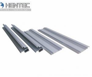 China 6061 / 6063 Aluminum Extrusion Profiles For Sliding Door , With Finished Machining on sale