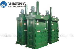 China Hydraulic Automatic Press Baler Machine Horizontal Type Compressing Hay / Waste Pape on sale