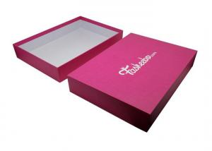 China Cardboard Clothing Printed Apparel Boxes Eco - Friendly Recyclable Material on sale