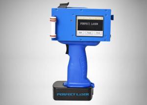 China High Resolution Portable Inkjet Printer For Metal Plastic Wood Stone Marking on sale