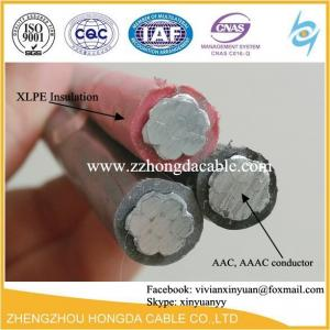 China Aerial insulated cable with rated voltage 1KV and Aerial Bundle Cable(ABC cable) on sale