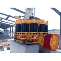 Hydraulic Cylinder Yellow Spring Cone Crusher High Reduction Efficiency
