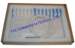 China Promotion 1x16 Ftth Passive Planar Lightwave Circuit Splitter Mini Tube Type on sale