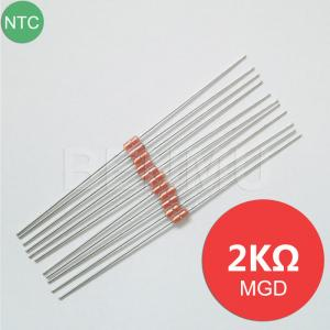 China MGD18 2K 1% 3800 MF58 diode Glass NTC Thermal Variable resistor+thermistor of temperature sensor in solar water heaters+ on sale