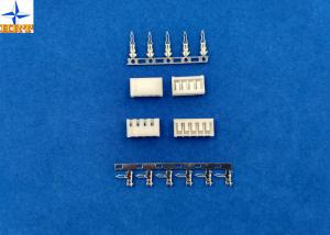 China Single Row 2.5mm PCB Board-in Connectors Brass Contacts Side Entry type Crimp Connectors on sale